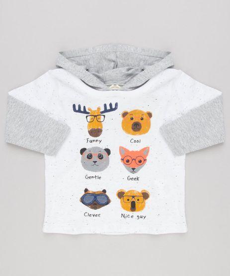 Camiseta-Infantil-com-Estampa-Interativa-de-Bichos-Manga-Longa-com-Capuz-Off-White-9140283-Off_White_1