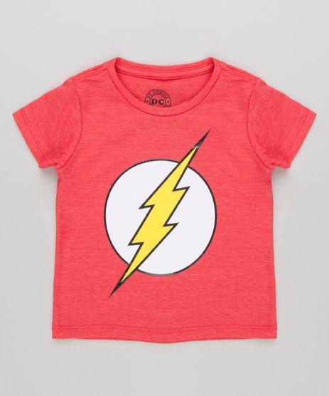 Camiseta-Infantil-The-Flash-Manga-Curta-Gola-Careca-Vermelha-9140229-Vermelho_1