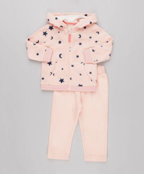 Conjunto-Infantil--de-Blusao-Manga-Longa-Estampado-de-Estrelas---Calca-em-Fleece-Rosa-8838790-Rosa_1