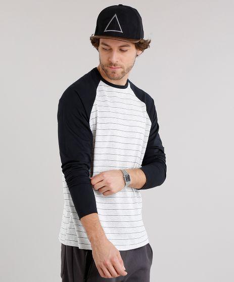 Camiseta-Masculina-Raglan-Listrada-Manga-Longa-Gola-Careca-Cinza-Mescla-Claro-9028193-Cinza_Mescla_Claro_1