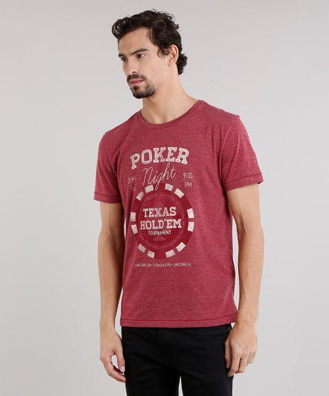 Camiseta-Masculina--Poker-Night--Manga-Curta-Decote-Careca-Vinho-9165143-Vinho_1