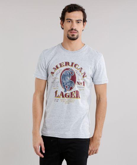 Camiseta-Masculina--American-Lager--Manga-Curta-Decote-Careca-Cinza-Mescla-9165462-Cinza_Mescla_1