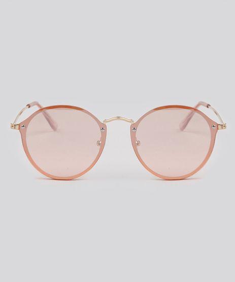 Oculos-de-Sol-Redondo-Feminino-Oneself-Rosa-9189336-Rosa_1
