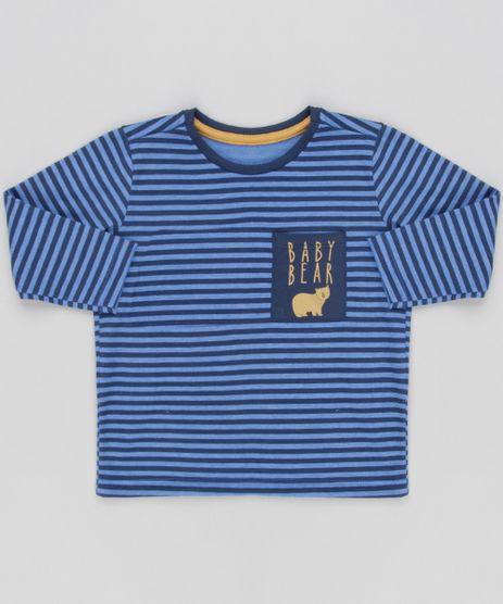 Camiseta-Infantil-Listrada-com-Bolso--Manga-Longa-Gola-Careca-Azul-Marinho-9133425-Azul_Marinho_1