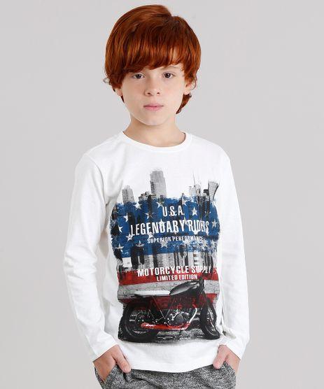 Camiseta-Infantil--Motorcycle--Manga-Longa-Gola-Careca-em-Algodao---Sustentavel-Off-White-9136059-Off_White_1
