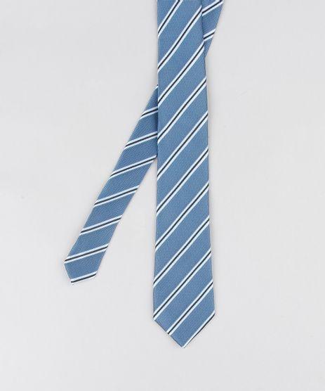 Gravata-Masculina-Listrada-em-Jacquard-Azul-8891378-Azul_1