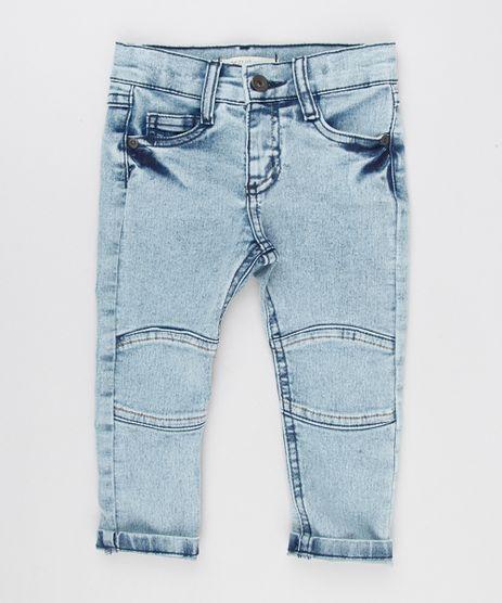 Calca-Jeans-Infantil-com-Recorte-em-Algodao---Sustentavel-Azul-Claro-9153852-Azul_Claro_1