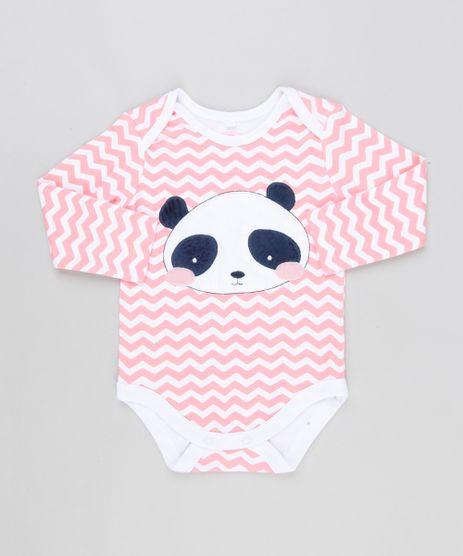 Body-Infantil-Panda-Estampado-Chevron-Manga-Longa-Gola-Redonda-em-Algodao---Sustentavel-Off-White-8812155-Off_White_1