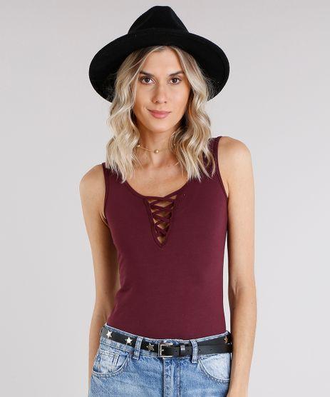 Body-Feminino-Decote-com-Lace-Up-Vinho-9072660-Vinho_1