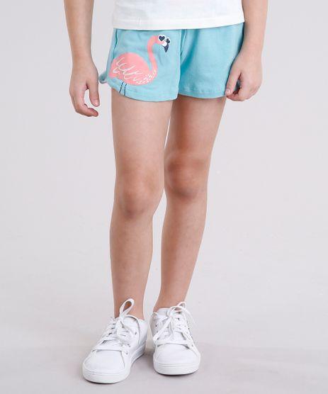 Short-Infantil-Flamingo-com-Laco-em-Algodao---Sustentavel-Azul-Claro-9146246-Azul_Claro_1