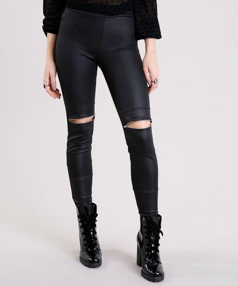 Calca-Legging-Feminina-com-Recorte-e-Ziper-Preta-9132366-Preto_1