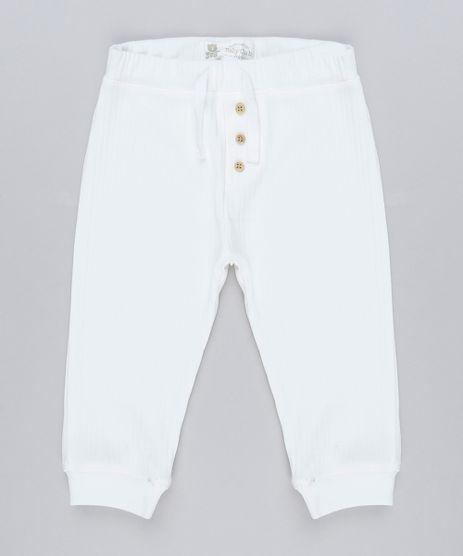 Calca-Infantil-Basica-Canelada-com-Botoes-em-Algodao---Sustentavel-Off-White-8905870-Off_White_1