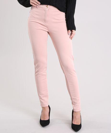 Calca-Feminina-Skinny-Cintura-Alta--Rose-8894154-Rose_1