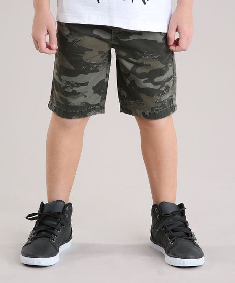 Bermuda-Infantil-Estampada-Camuflada-com-Bolsos-Verde-Militar-9148453-Verde_Militar_1