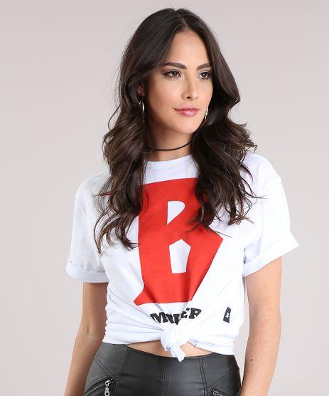 Blusa-Feminina--Team-Bieber--Manga-Curta-Decote-Redondo-em-Algodao---Sustentavel-Branca-9129704-Branco_1