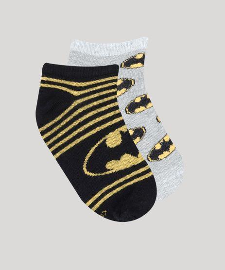 Kit-de-2-Meias-Infantis-Batman-Soquete-Multicor-9144743-Multicor_1