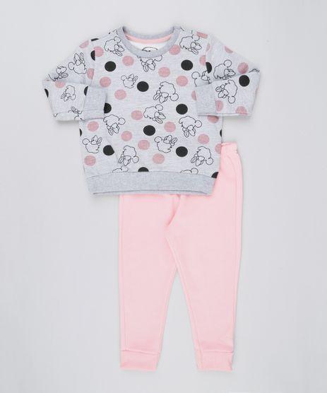 Conjunto-Infantil-Estampado-Minnie-de-Blusao---Calca-em-Moletom-Rosa-Claro-9169071-Rosa_Claro_1