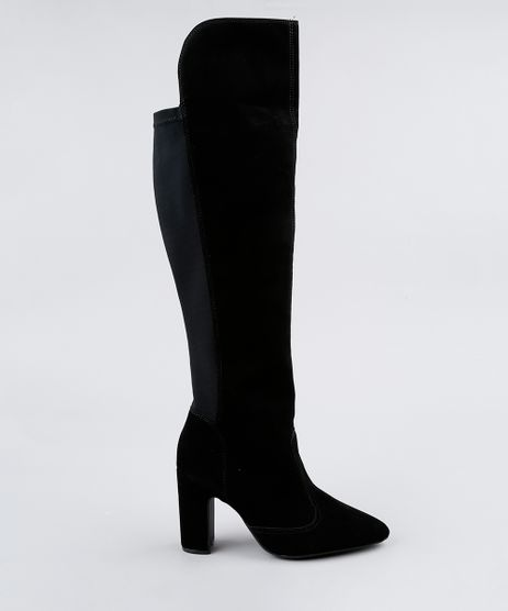 Bota-Feminina-Over-The-Knee-Vizzano-Salto-Alto-Bico-Fino-Preta-9190862-Preto_1