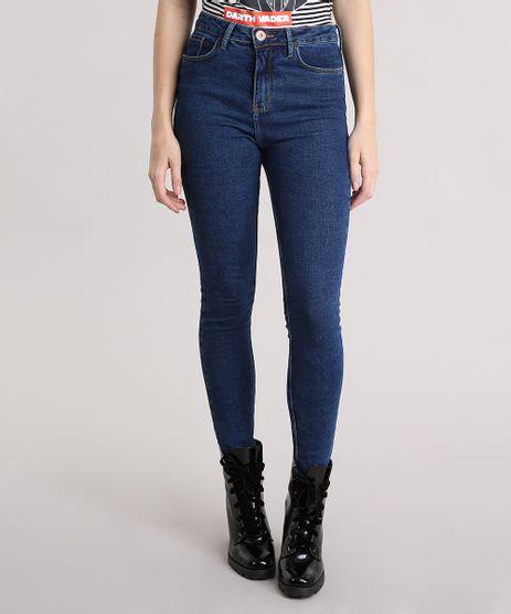 Calca-Jeans-Feminina-Jegging-Cintura-Super-Alta-Azul-Escura-9101333-Azul_Escura_1