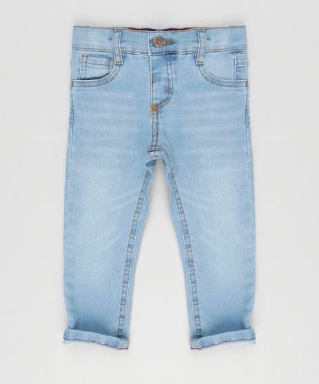 Calca-Jeans-Infantil-com-Retalho-Xadrez-Azul-Claro-9168779-Azul_Claro_1