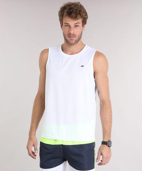Regata-Masculina-Esportiva-Ace-com-Listras-Gola-Careca-Branca-9153551-Branco_1