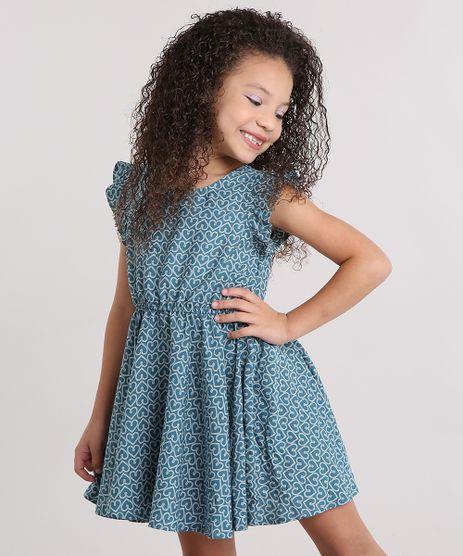 Vestido-Infantil-Estampado-de-Coracoes-Sem-Manga-com-Babados-Verde-9013576-Verde_1