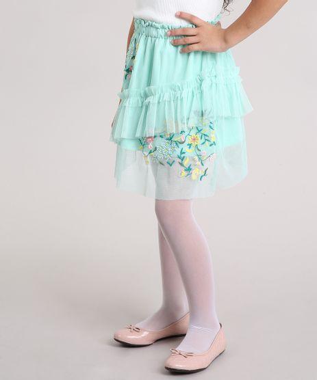 Saia-Infantil-em-Tule-com-Bordado-e-Babados-Verde-Claro-8690712-Verde_Claro_1