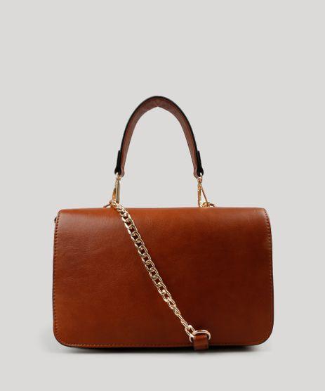 Bolsa-Feminina-Transversal-Alca-com-Corrente-Caramelo-8883341-Caramelo_1