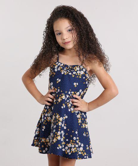Vestido-Infantil-Estampado-Floral-com-Alca-Fina-Azul-Marinho-8806509-Azul_Marinho_1