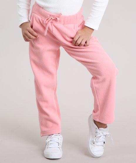 Calca-Infantil-Basica-em-Fleece-com-Bolsos-Rosa-8833521-Rosa_1