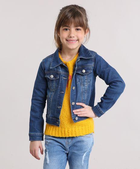 Jaqueta-Jeans-Infantil-com-Bordado-Floral-Azul-Escuro-9152047-Azul_Escuro_1