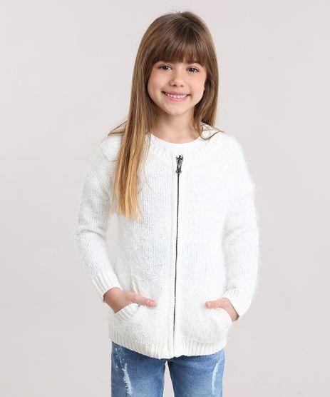 Cardigan-Infantil-em-Trico-Felpudo-com-Paetes-com-Bolsos-Off-White-8864894-Off_White_1
