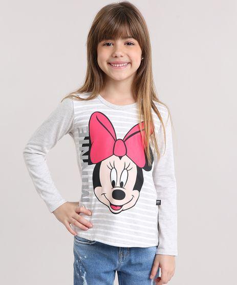 Blusa-Infantil-Minnie-com-Listras-e-Glitter-Manga-Longa-Decote-Redondo-Cinza-Mescla-Claro-9141528-Cinza_Mescla_Claro_1