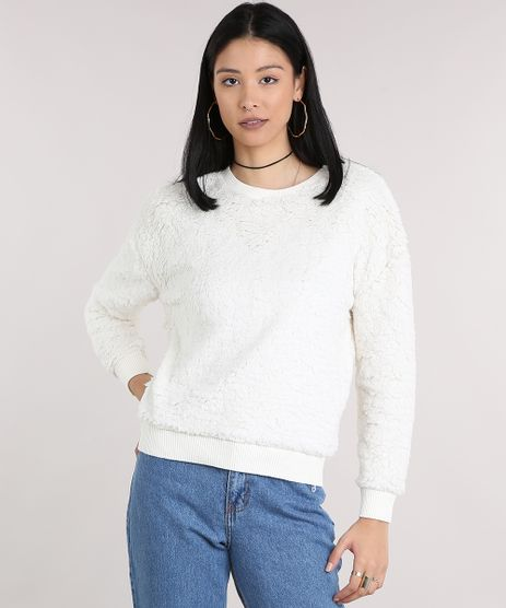Blusao-Feminino-de-Pelo-Decote-Redondo-Manga-Longa-Off-White-9181144-Off_White_1