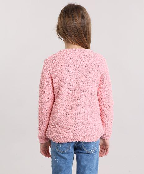 Cardigan-Infantil-em-Trico-Texturizado-Decote-Redondo-Rosa-8862485-Rosa_2