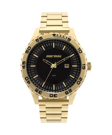 2f70679cec4 Relógio Morm Masculino El Basic Dourado - MO2115AZ 4P