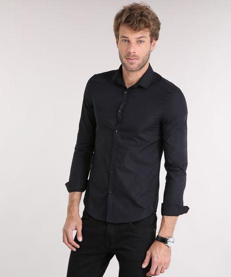 Camisa-Masculina-Slim-Manga-Longa-Preta-7683136-Preto_1