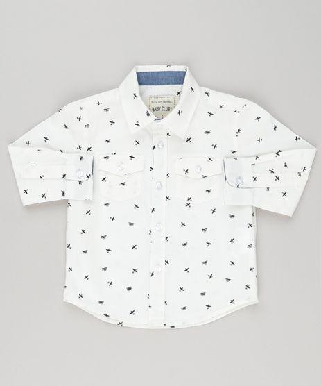 Camisa-Infantil-Estampada-de-Avioes-Manga-Longa-com-Bolsos-Off-White-8853731-Off_White_1
