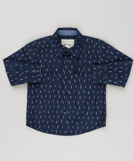 Camisa-Infantil-Estampada-de-Fechas-Manga-Longa-com-Bolsos-Azul-Marinho-8853737-Azul_Marinho_1