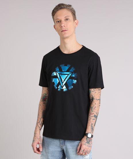 Camiseta-Masculina-Homem-de-Ferro-Manga-Curta-Gola-Careca-Preta-9081676-Preto_1