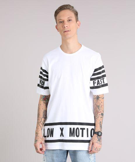 Camiseta-Masculina-Ampla--Slow-Motion--Manga-Curta-Gola-Careca-Off-White-9152164-Off_White_1