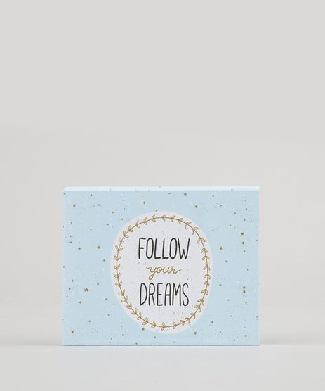 Bloco-de-Anotacoes--Follow-Your-Dreams--Sem-Pauta-11-5cm-x-95cm-Preto-9131734-Preto_1
