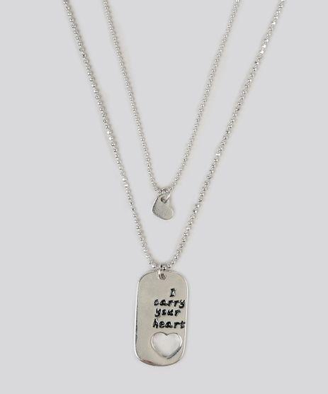 Kit-de-2-Colares--I-Carry-Your-Heart--Prateado-9160669-Prateado_1