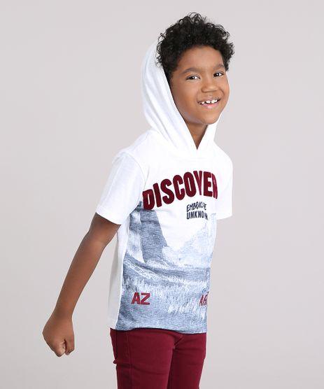 Camiseta-Infantil--Discover--Manga-Curta-com-Capuz-Off-White-9148007-Off_White_1