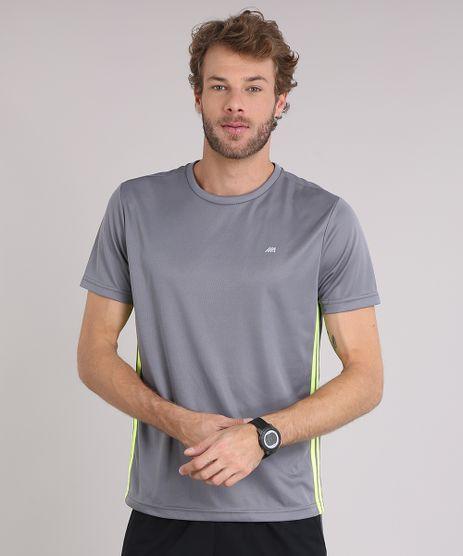 Camiseta-Masculina-Esportiva-Ace-de-Treino-com-Listras-Laterais-Cinza-9156302-Cinza_1