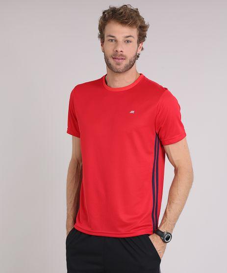 Camiseta-Masculina-Esportiva-Ace-de-Treino-com-Listras-Laterais-Vermelha-9156302-Vermelho_1