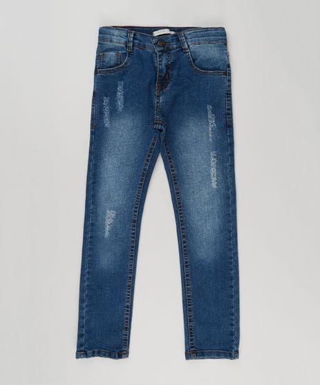 Calca-Infantil-Jeans-Skinny-Destroyed--Azul-Escuro-9146933-Azul_Escuro_1