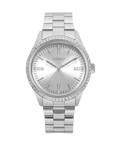 c41ec4d4416 Relógio Euro Feminino Pedras Prata - EU2035YNR 3K