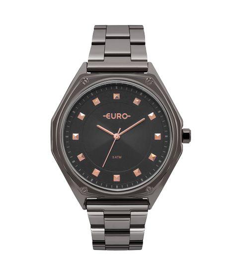 d223c5c4839 Relógio Euro Feminino Spike Geométrico Grafite - EU2035YOP 4C
