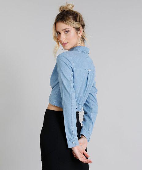 ...   www.cea.com.br camisa-jeans-feminina- e5352ac53a5